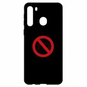 Etui na Samsung A21 Zakaz zawracania dupy