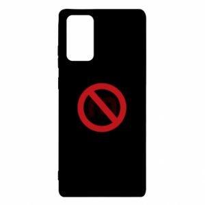 Etui na Samsung Note 20 Zakaz zawracania dupy