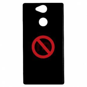 Etui na Sony Xperia XA2 Zakaz zawracania dupy