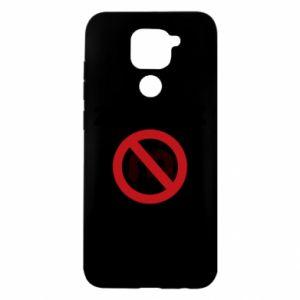 Etui na Xiaomi Redmi Note 9/Redmi 10X Zakaz zawracania dupy