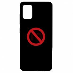 Etui na Samsung A51 Zakaz zawracania dupy