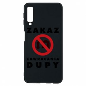 Phone case for Samsung A7 2018 Ban on u-turns of the ass