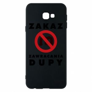 Phone case for Samsung J4 Plus 2018 Ban on u-turns of the ass