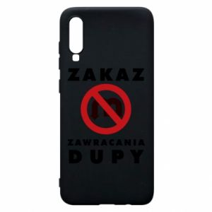 Samsung A70 Case Ban on u-turns of the ass