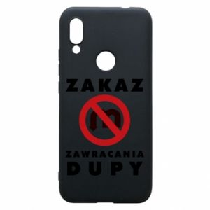 Xiaomi Redmi 7 Case Ban on u-turns of the ass