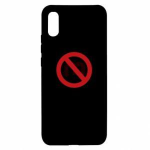 Etui na Xiaomi Redmi 9a Zakaz zawracania dupy