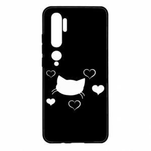 Xiaomi Mi Note 10 Case Cat in love