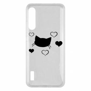 Xiaomi Mi A3 Case Cat in love