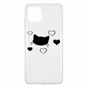 Samsung Note 10 Lite Case Cat in love