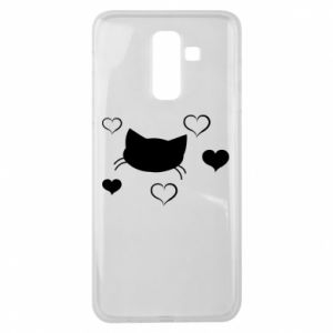 Samsung J8 2018 Case Cat in love