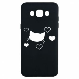 Samsung J7 2016 Case Cat in love