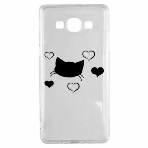 Samsung A5 2015 Case Cat in love