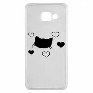 Samsung A3 2016 Case Cat in love