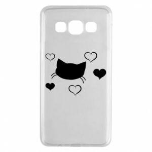 Samsung A3 2015 Case Cat in love