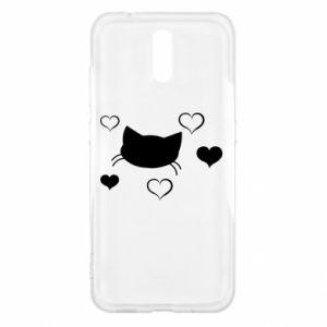 Nokia 2.3 Case Cat in love
