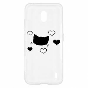 Nokia 2.2 Case Cat in love