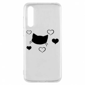 Huawei P20 Pro Case Cat in love