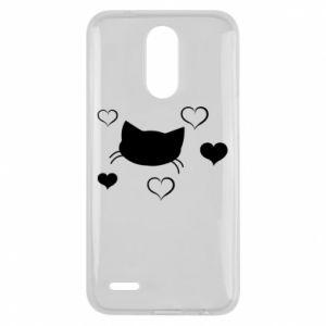 Lg K10 2017 Case Cat in love