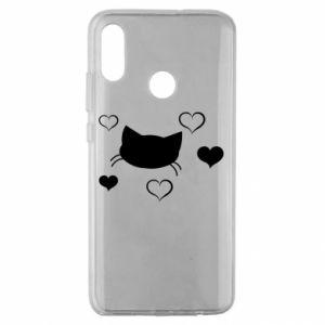 Huawei Honor 10 Lite Case Cat in love