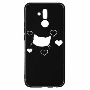 Huawei Mate 20Lite Case Cat in love