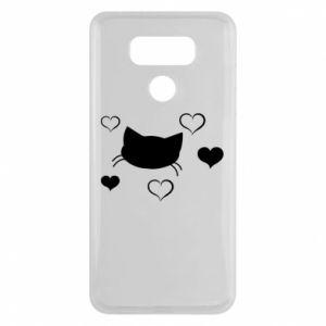 LG G6 Case Cat in love