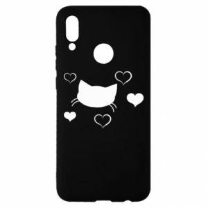 Huawei P Smart 2019 Case Cat in love