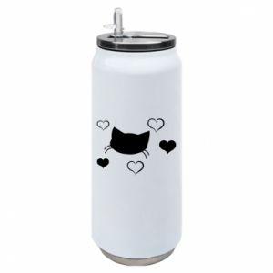 Puszka termiczna Zakochany kot