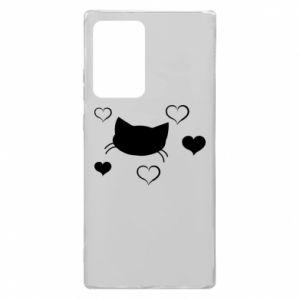 Samsung Note 20 Ultra Case Cat in love