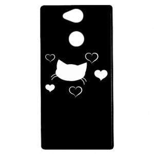 Sony Xperia XA2 Case Cat in love