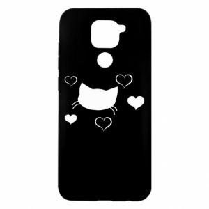 Xiaomi Redmi Note 9/Redmi 10X case Cat in love