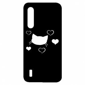 Xiaomi Mi9 Lite Case Cat in love