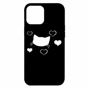 iPhone 12 Pro Max Case Cat in love