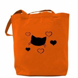 Bag Cat in love