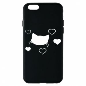 Phone case for iPhone 6/6S Cat in love