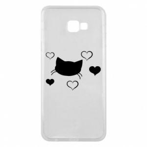 Phone case for Samsung J4 Plus 2018 Cat in love