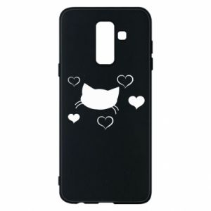 Phone case for Samsung A6+ 2018 Cat in love