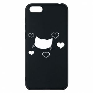 Phone case for Huawei Y5 2018 Cat in love