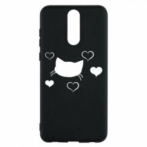 Phone case for Huawei Mate 10 Lite Cat in love