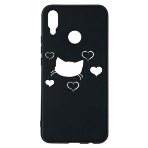 Phone case for Huawei P Smart Plus Cat in love