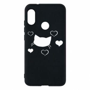 Phone case for Mi A2 Lite Cat in love
