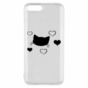 Phone case for Xiaomi Mi6 Cat in love