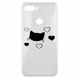 Phone case for Xiaomi Mi8 Lite Cat in love