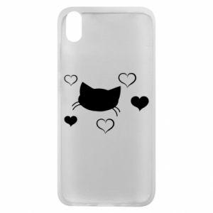 Phone case for Xiaomi Redmi 7A Cat in love