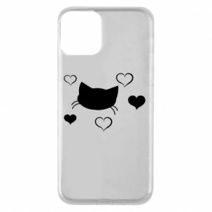 Phone case for iPhone 11 Cat in love