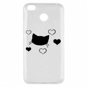 Xiaomi Redmi 4X Case Cat in love