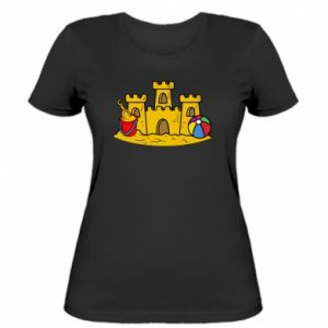 Women's t-shirt Sand castle