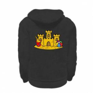 Bluza na zamek dziecięca Zamek z piasku