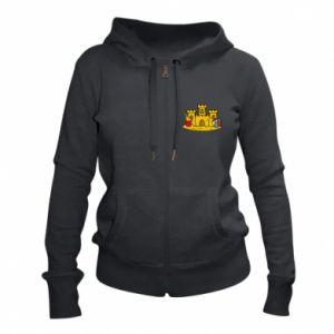 Damska bluza na zamek Zamek z piasku - PrintSalon