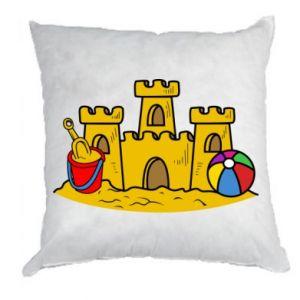 Poduszka Zamek z piasku - PrintSalon