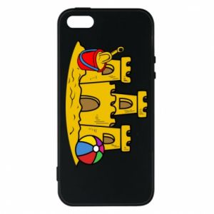 Phone case for iPhone 5/5S/SE Sand castle